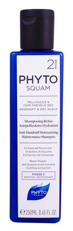 Phyto Squam Шампунь проти лупи зволожуючий для сухого волосся 250 мл 1 флакон