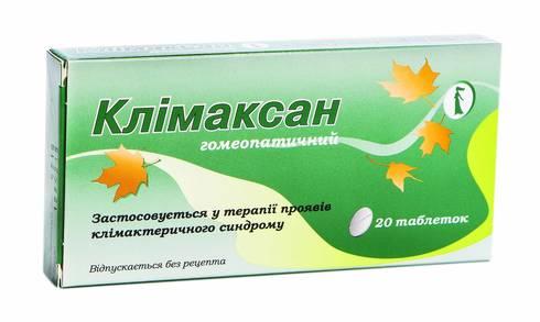 Клімаксан таблетки 20 шт