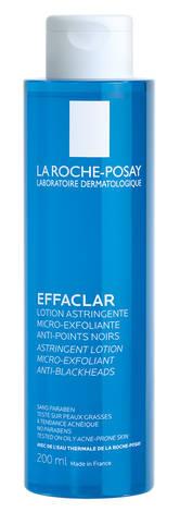 La Roche-Posay Effaclar Лосьйон для очищення та звуження пор з відлущуючим ефектом 200 мл 1 флакон