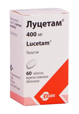 Луцетам таблетки 400 мг 60 шт