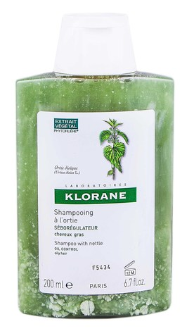 Klorane Шампунь себорегулюючий з екстрактом кропиви для жирного волосся 200 мл 1 флакон