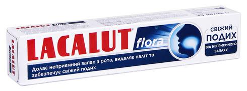 Lacalut Flora Зубна паста Свіжий подих 75 мл 1 туба