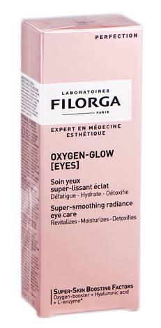 Filorga Oxygen-glow Засіб для контуру очей супер розгладжуючий, що надає сяяння 15 мл 1 туба