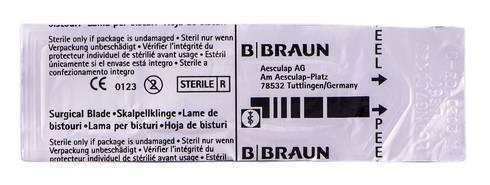 B.Braun  Лезо для скальпеля карбонове 11 1 шт
