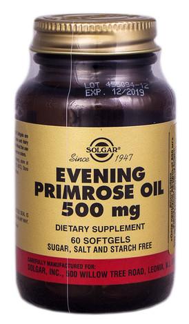 Solgar Вечірньої примули олія капсули 500 мг 60 шт