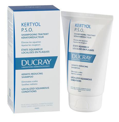 Ducray Kertyol Р.S.О. Шампунь усуває лупу та лущення, знижує почервоніння 125 мл 1 туба