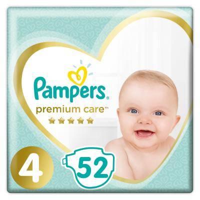 Pampers Premium Care 4 Maxi Підгузки дитячі 9-14 кг 52 шт