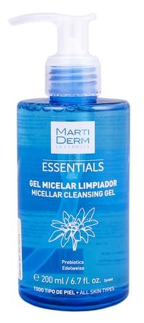 MartiDerm Essentials Гель міцелярний очищувальний для всіх типів шкіри 200 мл 1 флакон