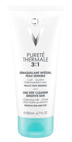 Vichy Purete Thermale Integral Демакіяж 3 в 1 зняття макіяжу без змивання 200 мл 1 туба