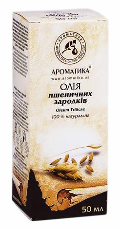 Ароматика Олія пшеничних зародків 50 мл 1 флакон