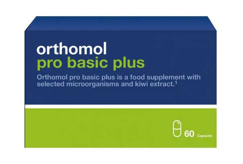 Orthomol Pro Basic Plus new (для оптим. шлункового травлення) 30 днів 1 комплект