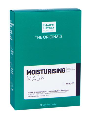 MartiDerm The Originals Зволожувальна маска для обличчя для всіх типів шкіри 25 мл 10 шт