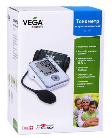 Vega VS-250 Тонометр напівавтоматичний 1 шт