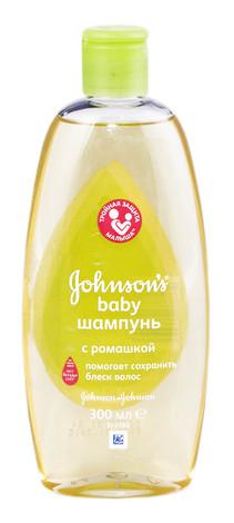 Johnson's Baby Шампунь з ромашкою 300 мл 1 флакон