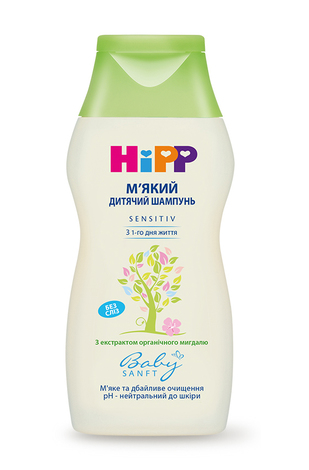 HiPP Baby sanft Шампунь дитячий м'який 200 мл 1 флакон