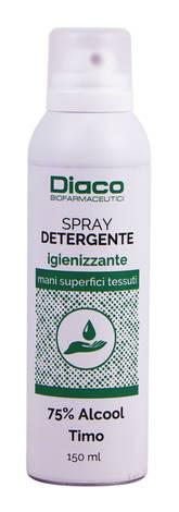 Спрей Діако дезінфікуючий для рук, поверхонь і тканин 150 мл 1 флакон
