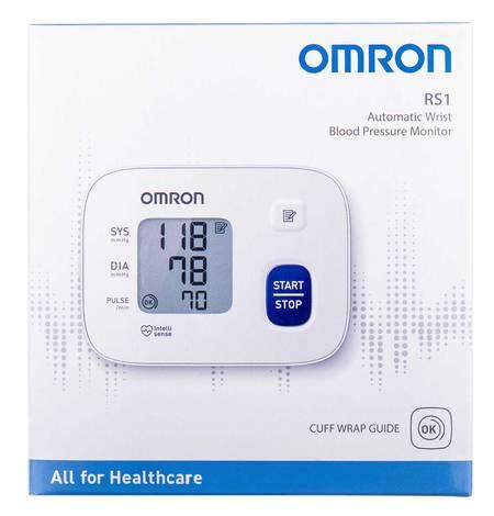 Omron RS1 (НЕМ-6120-E) Тонометр автоматичний на зап'ястя 1 шт