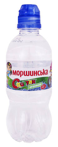 Моршинська Вода мінерально-столова негазована Спортик 0,33 л 1 пляшка