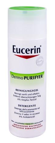 Eucerin DermoPurifyer Гель очищувальний для вмивання для проблемної шкіри 200 мл 1 флакон