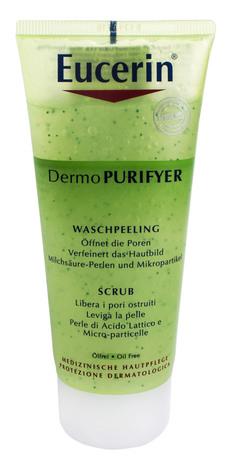 Eucerin DermoPurifyer Скраб для вмивання проблемної шкіри 100 мл 1 туба