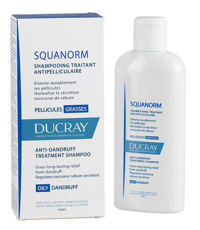 Ducray Squanorm Шампунь проти жирної лупи 200 мл 1 флакон