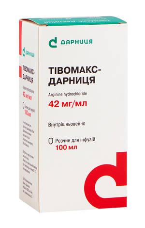 Тівомакс Дарниця розчин для інфузій 42 мг/мл 100 мл 1 флакон