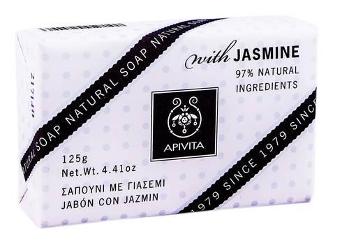Apivita Мило натуральне з жасмином 125 г 1 шт