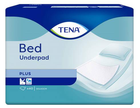 Tena Bed Plus Пелюшки 60х40 см 40 шт