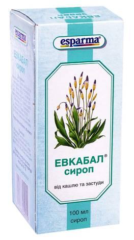 Евкабал сироп 100 мл 1 флакон