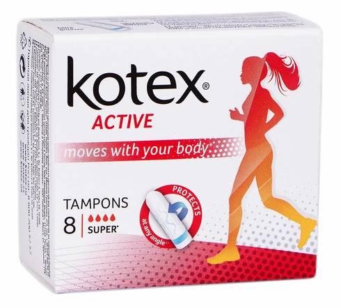 Kotex Active Super Тампони 8 шт