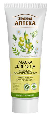 Зелена Аптека Маска для обличчя живильно-відновлююча 75 мл 1 туба