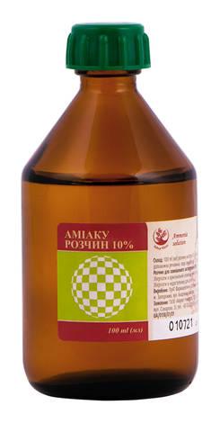 Аміак Arbor Vitae розчин зовнішній 10 % 100 мл 1 флакон