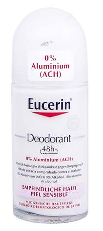 Eucerin Дезодорант без Алюмінію для чутливої шкіри 50 мл 1 флакон