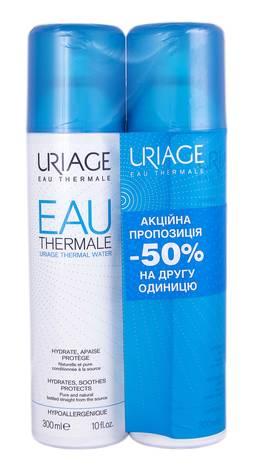 Uriage Термальна вода Дуо 2х300 мл 1 набір