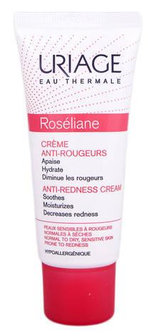 Uriage Roseliane Крем для чутливої нормальної та сухої шкіри, схильної до почервоніння 40 мл 1 туба