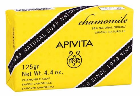Apivita Мило натуральне з ромашкою 125 г 1 шт