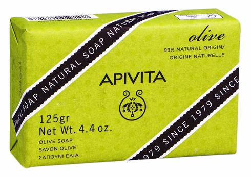 Apivita Мило натуральне з оливкою 125 г 1 шт