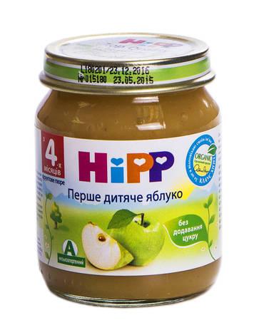 Hipp Пюре Перше дитяче яблуко з 4 місяців 125 г 1 банка