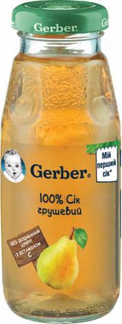 Gerber Сік грушевий з 6 місяців 175 мл 1 банка
