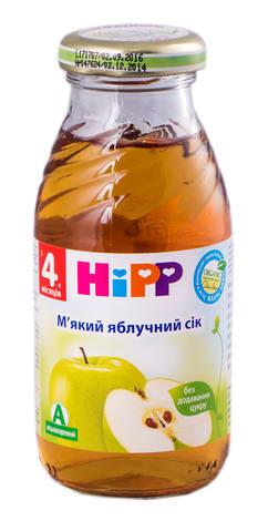 HiPP Сік м'який яблучний з 4 місяців 200 мл 1 банка