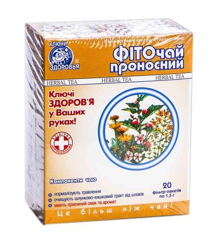 Ключі Здоров'я Фіточай №19 Проносний 1,5 г 20 фільтр-пакетів
