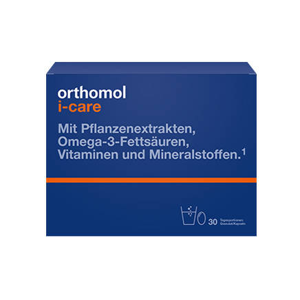 Orthomol I-Care гранули + капсули 30 днів 1 комплект