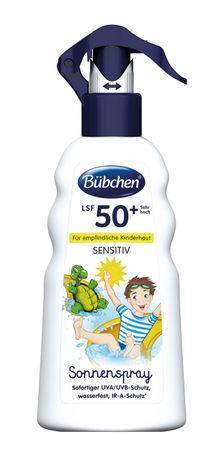Bubchen Sensitive Спрей дитячий сонцезахисний SPF-50+ 200 мл 1 флакон